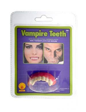 Vampire Teeth Custom Fit Halloween Accessory
