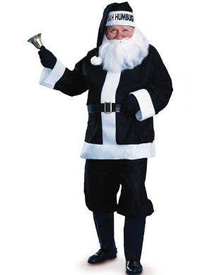 Bah Humbug Men's Evil Santa Scrooge Christmas Costume