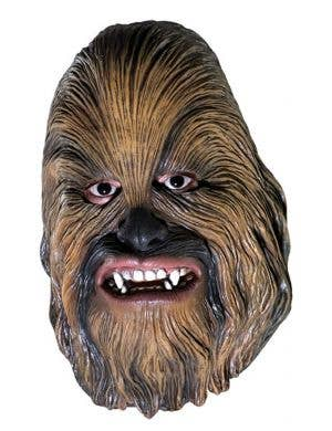 Vinyl Chewbacca Adults Full Face Mask Image 1