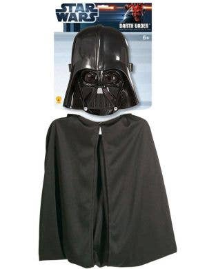 Children's Darth Vader Mask And Cape Kit Image 1