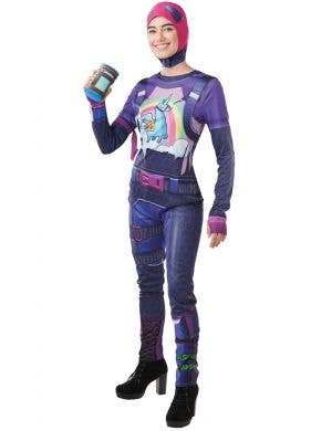 Brite Bomber Women's Fortnite Fancy Dress Costume