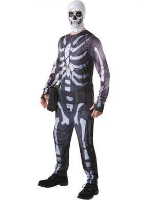 Fortnite Skull Trooper Mens Video Game Fancy Dress Costume