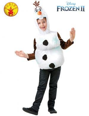 Frozen 2 - Boys Olaf Fancy Dress Costume