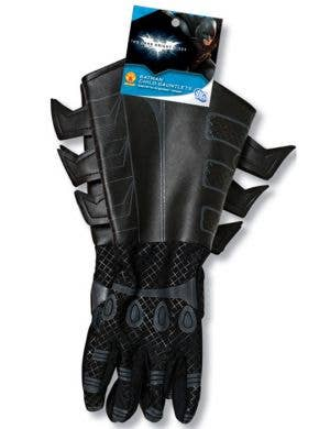Batman Adult's Black Gauntlet Gloves
