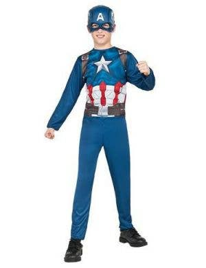 Boys Captain America Civil War Fancy Dress Costume