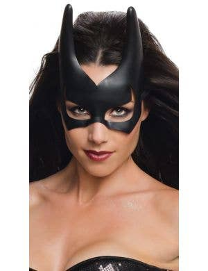 Batgirl Women's Black Costume Mask