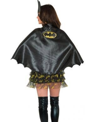 DC Comics Women's Batgirl Black Cape Costume Accessory
