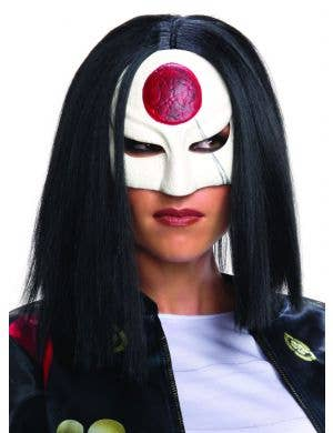 Suicide Squad Women's Katana Black Wig Costume Accessory