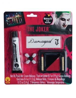 Men's Suicide Squad The Joker Costume Makeup Kit
