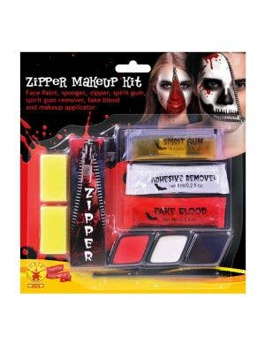 Zipper Face Halloween Makeup Kit