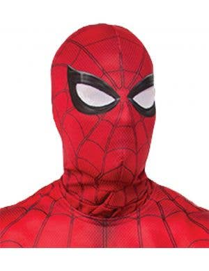 Spiderman Homecoming Kids pull-over face fabric costume mask accessory main image