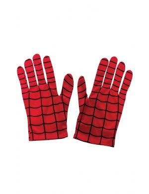 Spiderman Costume Adults  Gloves