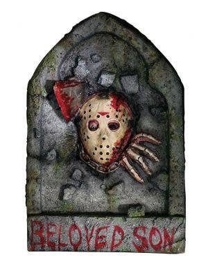 Horror Jason Tombstone Friday the 13th Movie Halloween Prop Main Image