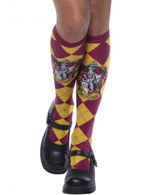 Harry Potter Gryffindor Girl's Deluxe Knee High Socks