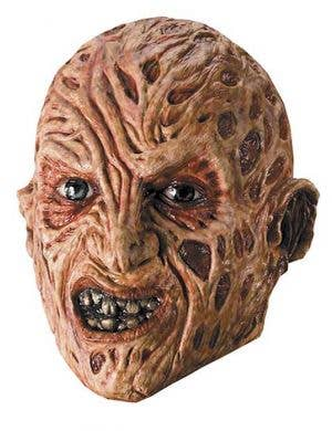 Freddy Krueger 3/4 Latex Halloween Mask