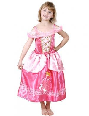 Disney Princess Girl's Sleeping Beauty Costume Front View