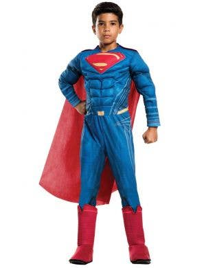 Muscle Chest Boys Superman Dawn Of Justice Costume Main Image