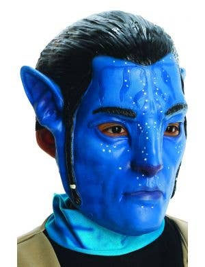 Kids Latex Jake Sully Avatar Costume Mask