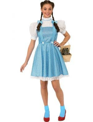Dorothy Deluxe Plus Size Womens Wizard of Oz Book Week Costume