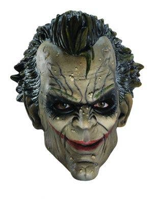 The Joker 3/4 Arkham City Latex Costume Mask For Adult's