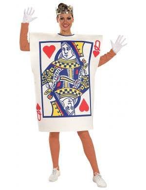 Women's Queen Of Hearts Tunic Fancy Dress Costume