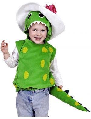 Girl's Dorothy the Dinosaur Wiggles Fancy Dress Costume