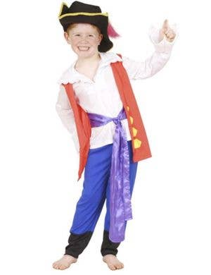 The Wiggles, Boy's Captain Feathersword Fancy Dress Costume