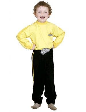 Boy's Yellow Wiggles Costume, The Wiggles Kids Costume