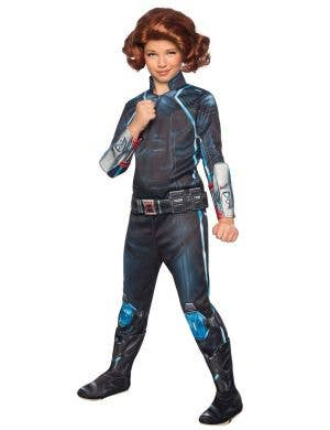 Girls Black Widow Avengers Age Of Ultron Costume Main Image
