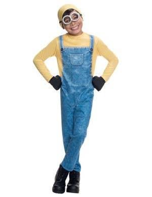 Despicable Me Boy's Minion Bob Costume Front View