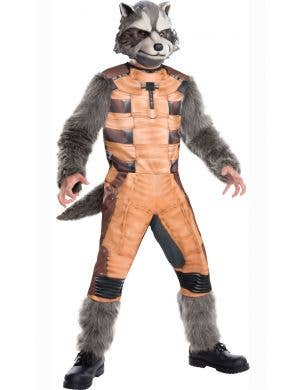 Rocket Guardians of the Galaxy Boys Fancy Dress Costume