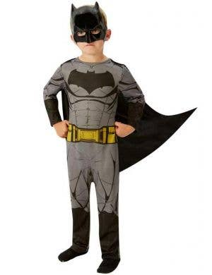 Batman Boy's Superhero Fancy Dress Costume Front View
