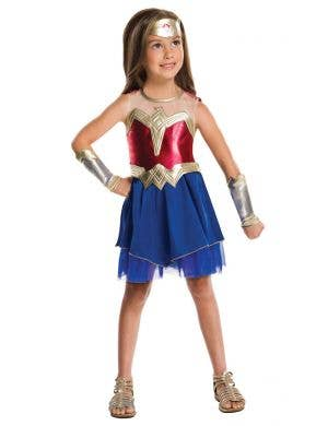Girls Dawn Of Justice Girls Wonder Woman Costume Main Image