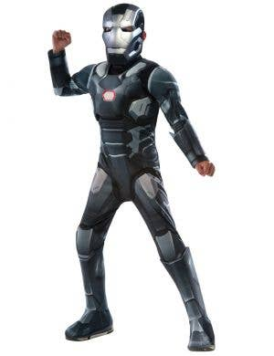 Marvel Comics War Machine Boys Fancy Dress Costume