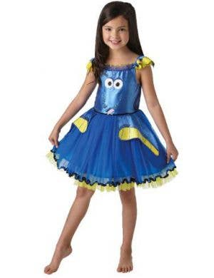 Finding Dory Girls Deluxe Fish Costume Main Image