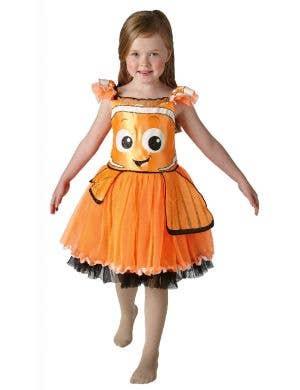Finding Dorry Girls deluxe Nemo Clown Fish Costume