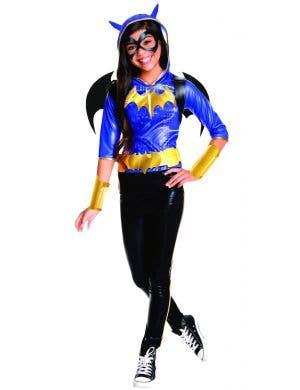Superhero High Girl's Batgirl Fancy Dress Costume