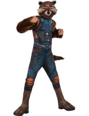 Guardians of the Galaxy Vol. 2, Rocket Raccoon Boy's Dress Up Costume Front