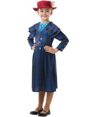 Mary Poppins Returns Girls Deluxe Fancy Dress Costume