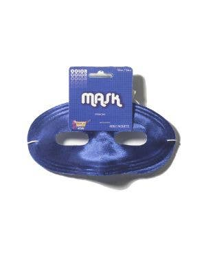 Basic Blue Adult's Superhero Eye Mask Costume Accessory
