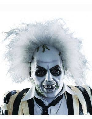 Adult's Deluxe Full Head Latex Beetlejuice Halloween Mask