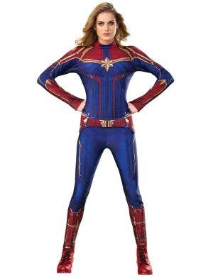 Captain Marvel Women's Superhero Fancy Dress Costume
