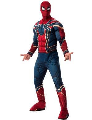 Iron Spider Avengers Endgame Mens Deluxe Spiderman Costume