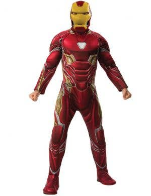 Iron Man Mens Marvel Avengers Muscle Chest Costume