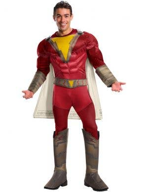 Shazam! Men's Muscle Chest Superhero Costume