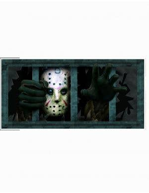 Jason Voorhees Scary Friday the 13th Halloween Wall Sticker