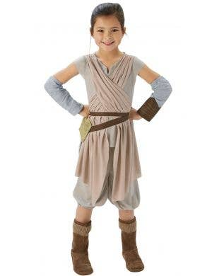 Star Wars The Force Awakens Girls Rey costume