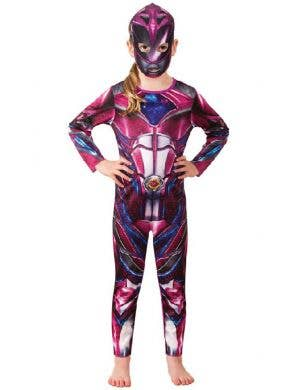 Pink Power Rangers Fancy Dress Costume for Kids