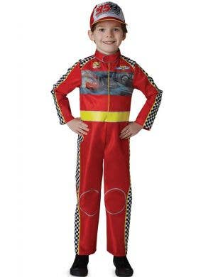 Boys Deluxe Lighning McQueen Book Week Costume
