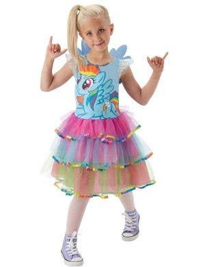 My Little Pony Girls Rainbow Dash Book Week Fancy Dress Costume